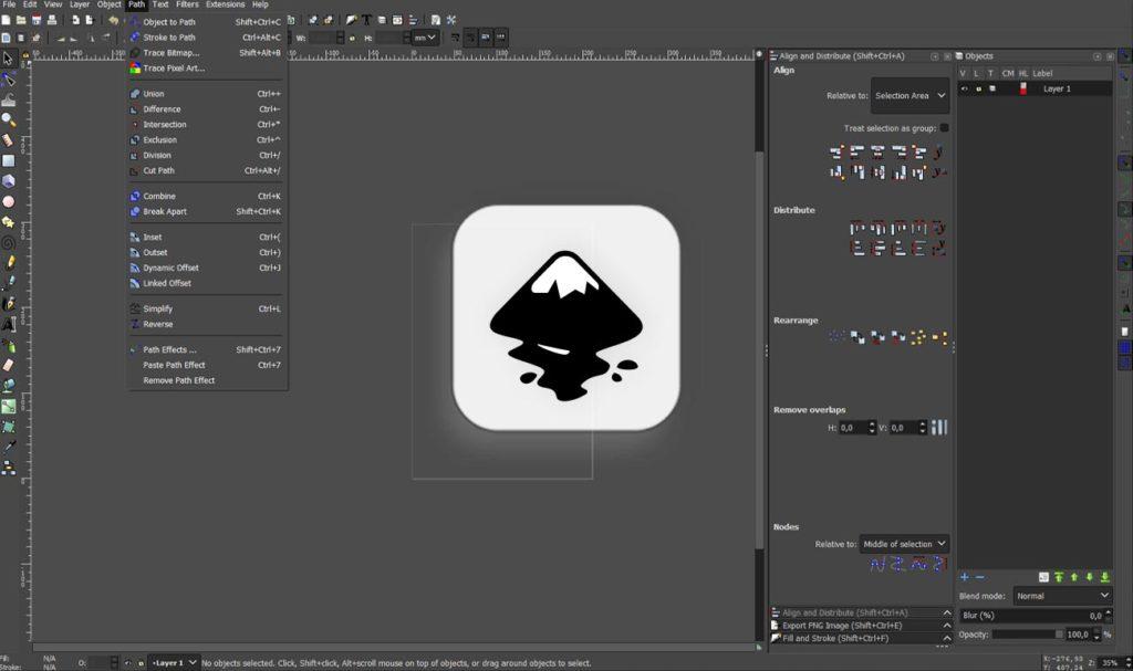 Inkscape - darmowe programy graficzne