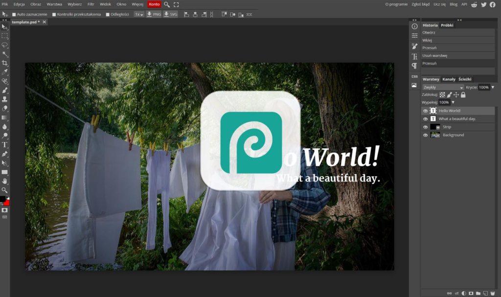 Photopea - darmowe programy graficzne