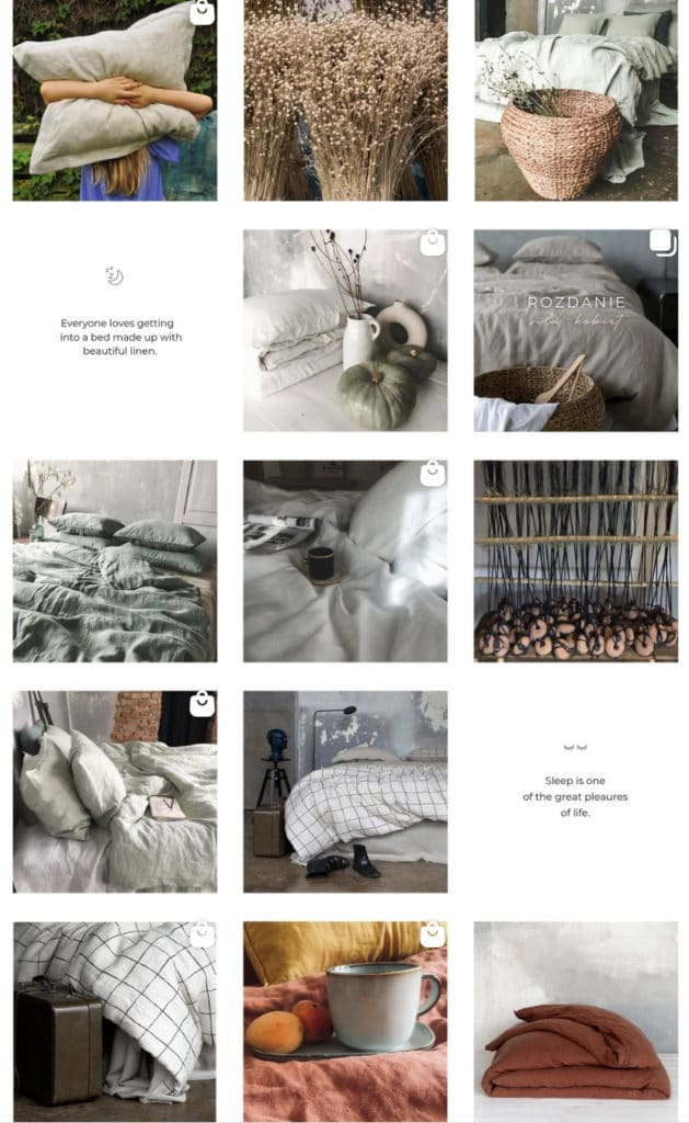 Instagram - 4 filary profilu